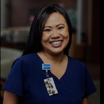 Cindy Ruisi - RN, BSN Clinical Nurse Leader, Unity Hospital.