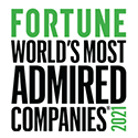 Fortune 2021 - World's Most Admired Companies