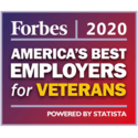 Forbes 2020 Award - World's Best Employers for Veterans
