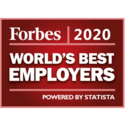 Forbes 2020 Award - Worlds Best Employers