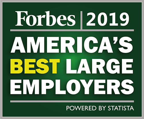 Forbes 2019 America's Best Large Employers