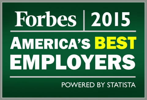 Forbes 2015 Best Employers