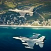 Eglin Air Force Base Beach Flyover