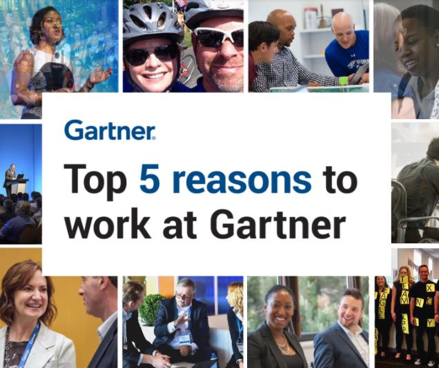 Top 5 Reasons to Work at Gartner