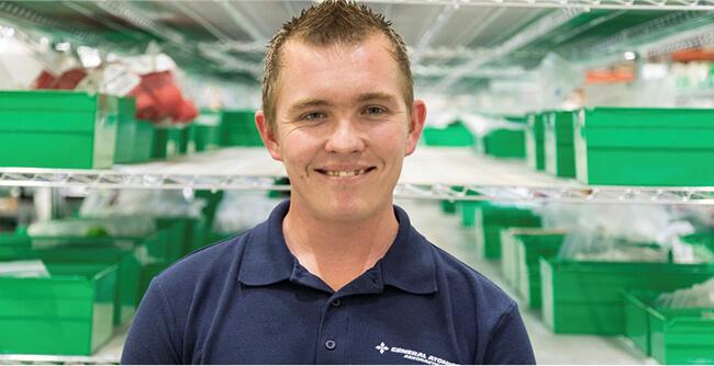 Seth, Stock Control Clerk
