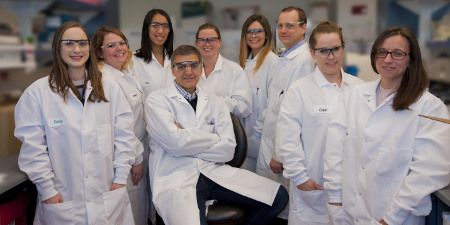 Parkinson's research team