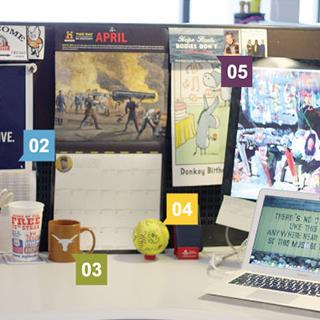 TMP Employee Challenge: If This Desk Could Talk