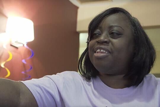 Meet Yvonne. (Video)