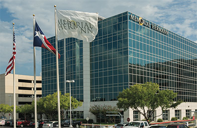 Memorial Hermann hospital in Texas