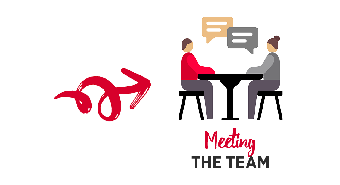 Meeting the team