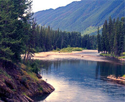 East Kootenays Rivers