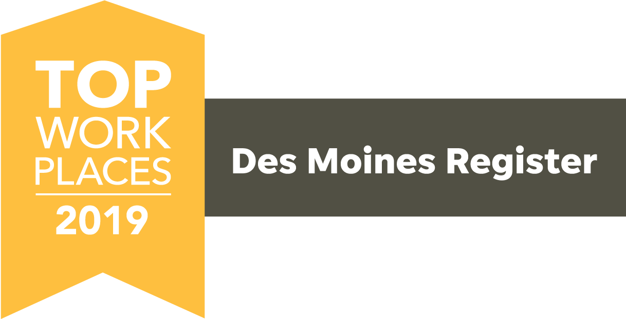 2019 The Des Moines Register Top Workplaces