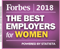 2018 Forbes Best Employers for Women Award