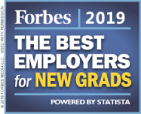 2019 Forbes Best Employers for New Grads Award
