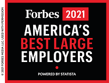 2021 Forbes Best Large Employers Award