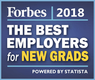 Forbes 2018 The Best Employers for New Grads
