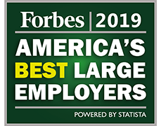 Forbes 2018: America's best large employers