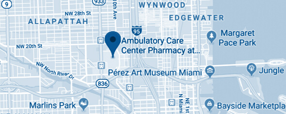 Ambulatory Care Center (ACC) East Map