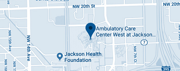 Ambulatory Care Center (ACC) West Map