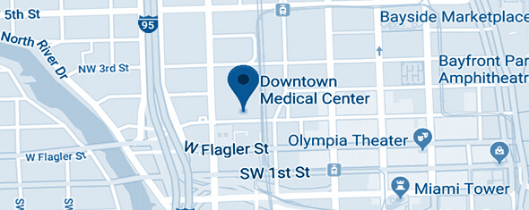 Downtown Medical Center Map