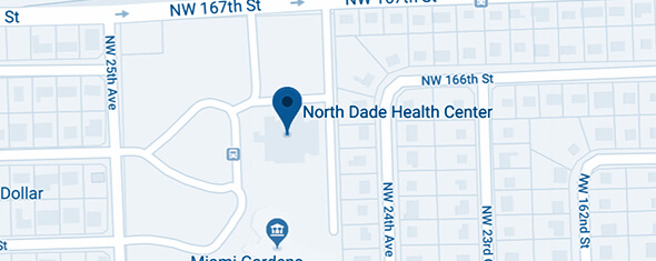 North Dade Health Center Map