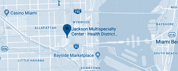 Jackson Multispecialty Center - Health District Map