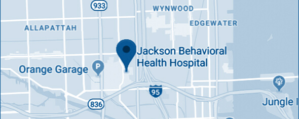 Jackson Behavioral Health Hospital Map