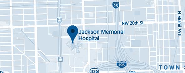 Jackson Memorial Hospital Map