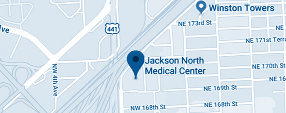 Jackson North Medical Center Map