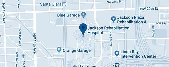 Jackson Rehabilitation Hospital Map