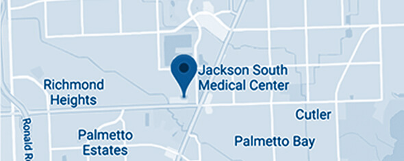 Jackson South Medical Center Map