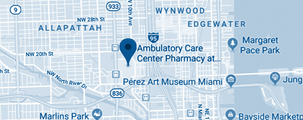 Jackson Pharmacy - Jackson Memorial Map