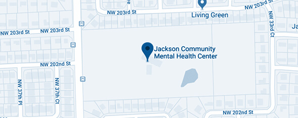Jackson Community Mental Health Center - Miami Gardens Map