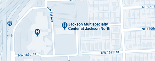 Jackson Multispecialty Center at Jackson North Map