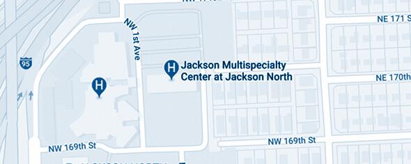 Jackson Multispecialty Center at Jackson North Map