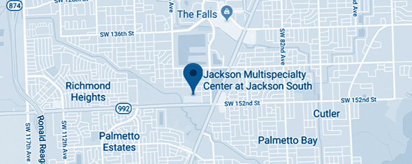 Jackson Multispecialty Center at Jackson South Map