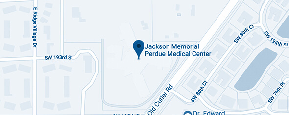 Jackson Memorial Perdue Medical Center Map