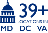 39+ locations in Maryland, D.C. and Virginia