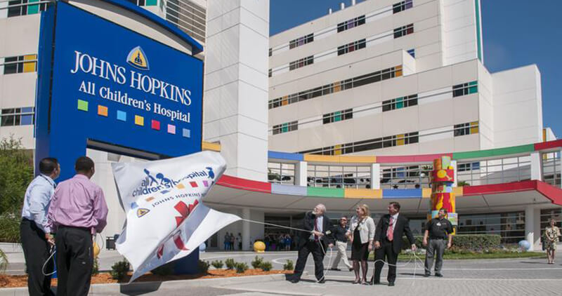 Video: Johns Hopkins All Children's Hospital Reveals New Name