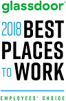 glassdoor 2018 Best Places to Work - Employees' Choice