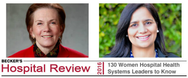 Two Leaders Named \'Women to Know\' in Health Care - Kaiser Permanente