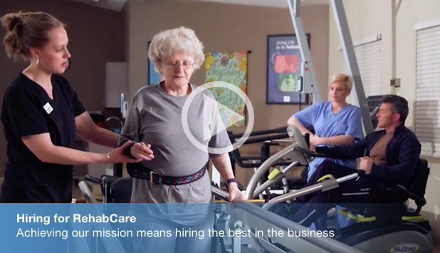 Hiring for RehabCare - Achieving our mission means hiring the best in the business