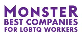 Monster Best Companies for LGBTQ works