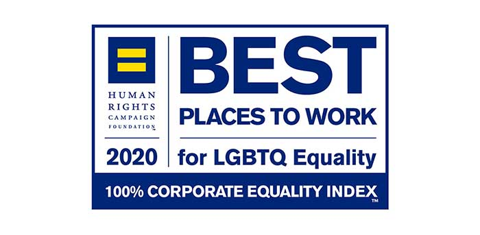 2020 Best Places to Work for LGBTQ Equality Logo