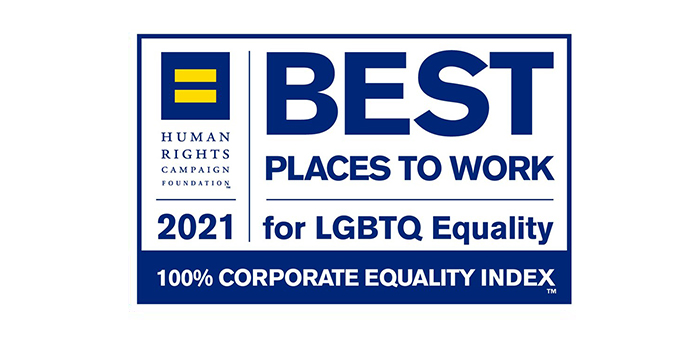 2021 Best Places to Work for LGBTQ Equality Logo