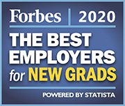 Forbes 2020 - The Best Employers For New Grads