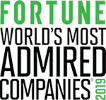 Fortune's Worlds Most Admired Companies 2019