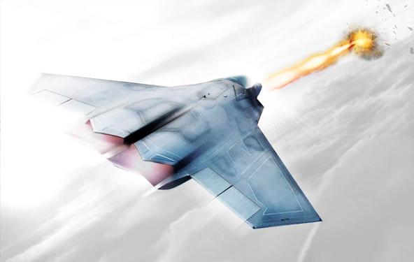 飞机使用定向能量