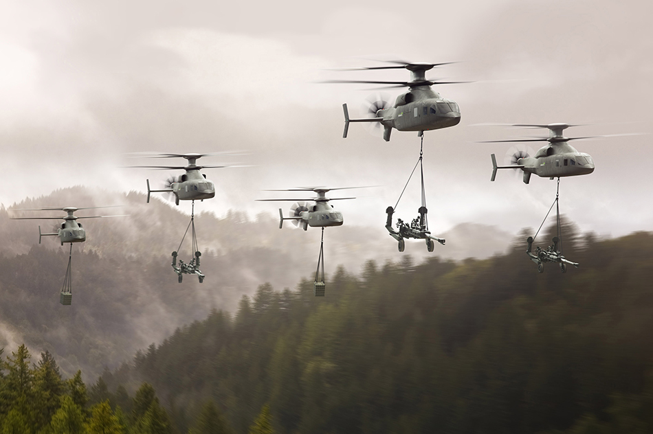 洛克希德·马丁挑衅直升机