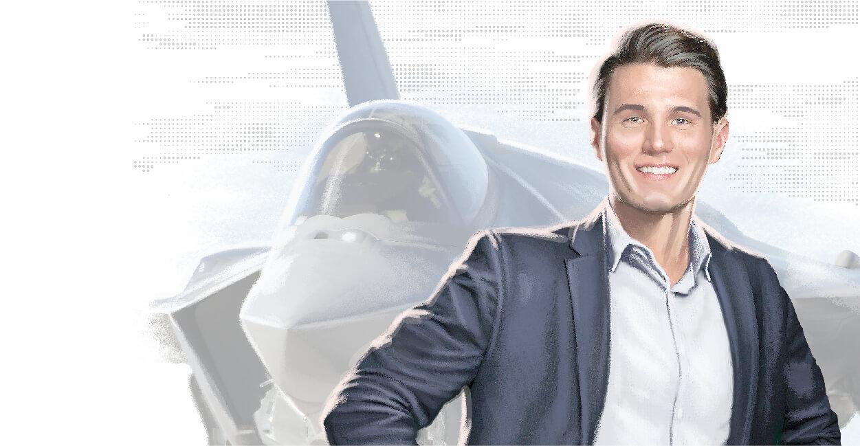 Brandon - Program Manager, F-35 Global Sustainment.